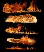 Flamme-sammlung — Stockfoto