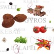 Orient food background — Stock Photo #7214949