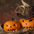 Foto de Stock  : Halloween pumpkin