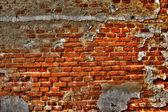 Grunge old brick wall — Stock Photo