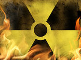 Nuclear danger — Stock Photo