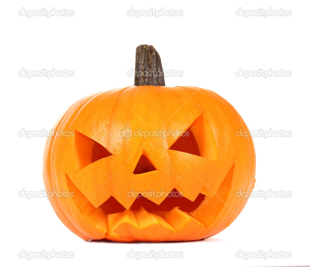 Halloween pumpkin — Stock Photo #7215407