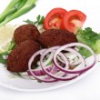 Tasty falafels meal — Stock Photo #7292409