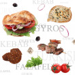 Stock Photo: Orient food background