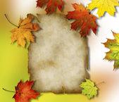 Autumn background. — Stock Photo