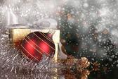 Boże narodzenie still life — Zdjęcie stockowe