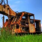 Old abandoned Excavator — Stock Photo #7646794