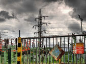 Electric station — Stock Photo