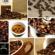 Beautiful Coffee Collage — Foto de Stock