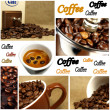 Beautiful Coffee Collage — Stock Photo