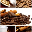 Beautiful Coffee Collage — Foto Stock