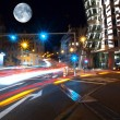 Old prague towers at nigh - Foto de Stock  