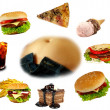Obesity collection - Stock Photo