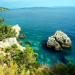 View of croatia coast - Stock Photo