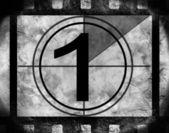 Film countdown 1 — Stock Photo