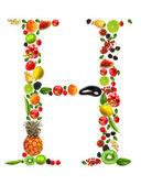 Fruits lettre h — Photo