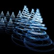 Stock Photo: Abstract Christmas tree