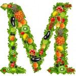 frutta e verdura lettera m — Foto Stock #7795196