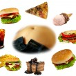 Obesity collection - Stockfoto