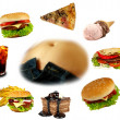 Obesity collection — Stock Photo #7795322