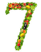 Fruit and vegetable No. 7 — Stock Photo