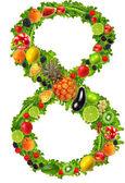 Meyve ve sebze no. 8 — Stok fotoğraf