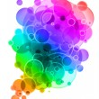 Royalty-Free Stock Photo: Abstract multicolor background.