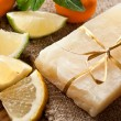 Lemon soap - Stockfoto