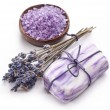 Lavender soap. — Stock Photo #7540021