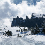 Winter landscape. — Stock Photo #7541350
