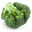 Stock Photo: Broccoli on a white