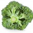 Broccoli on a white — Stock Photo