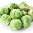 Lot of brussels sprouts. — Stock Photo