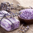 Lavender soap. — Foto Stock