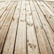 Wooden deck. — Stock Photo