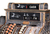 Old-style cash register. — Stock Photo