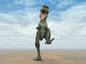 Dinosaur Bistahieversor — Stock Photo