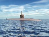 Modern Submarine — Stock Photo