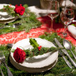 Royalty-Free Stock Photo: Decoration on christmas table