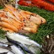 Sea food table — Stock Photo