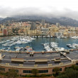 Panorama of Monaco harbor — Stock Photo