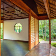 Stock Photo: Tea house in Japanese park