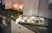 Classic kitchen — Stock Photo