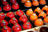 Bolos de frutas — Foto Stock