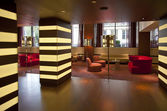 Interior of hotel — Stock Photo