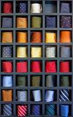Ties box — Stock Photo
