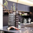 Interior of modern kitchen - Stockfoto