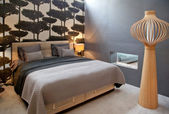 Bett im klassischen stil — Stockfoto
