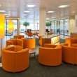 Public space in bank office - Foto Stock