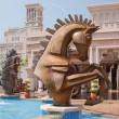 Horse Fountain — Stock Photo
